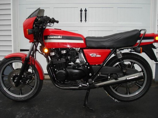 For many, the GPz series was the first introduction into sporty motorcycles ...