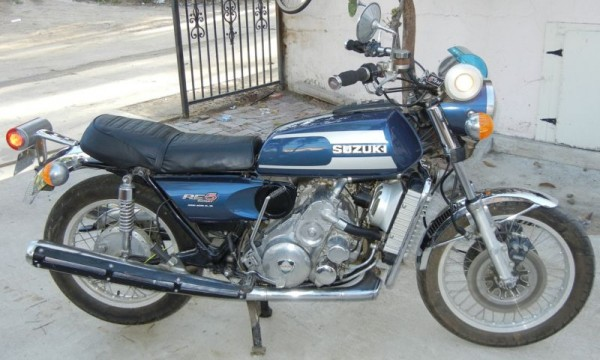 What come around goes around: 1975 Suzuki RE5 Rotary