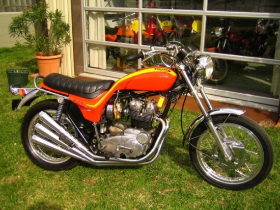 1973 Triumph/BSA X75: A Beginning and An End