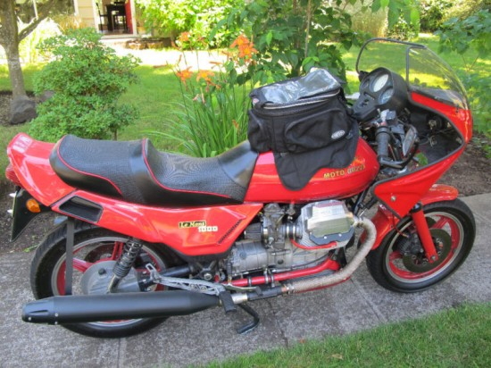 sporty tourer 1987 moto guzzi le mans 1000 classic sport bikes for sale. Black Bedroom Furniture Sets. Home Design Ideas