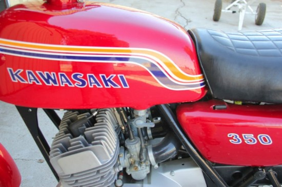 Rare 1972 Kawasaki S2 on eBay – Classic Sport Bikes For Sale