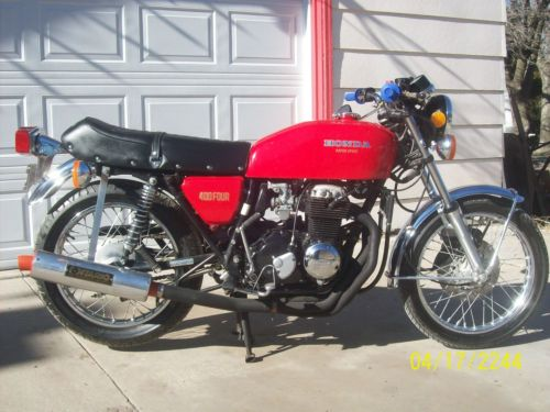 Bikes 1975 Cb400f Supersport This CB F currently on
