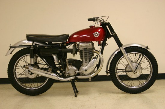 1960 Matchless G80CS For Sale