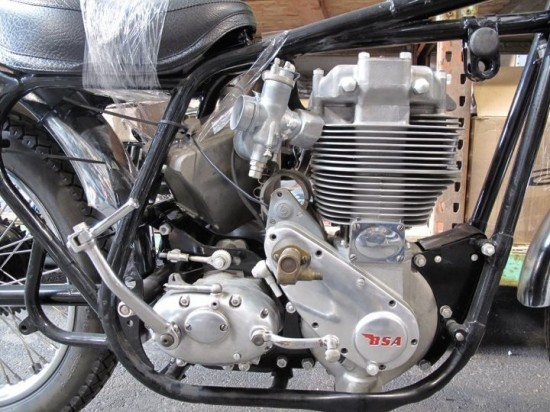 1962 BSA Gold Star For Sale