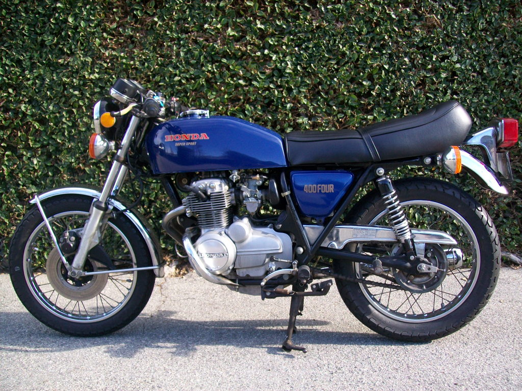 Bikes 1975 Cb400f Supersport Honda CB L Side