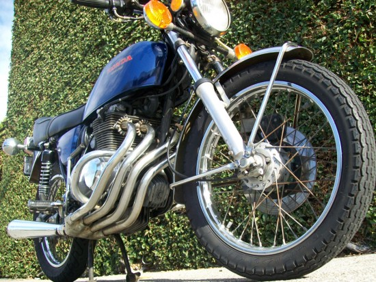 1975 Honda CB400F R Side Low LA