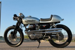 1973 Honda CB350 L Side