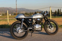 1973 Honda CB350 R Side