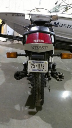 1982 Yamaha Seca Turbo Rear