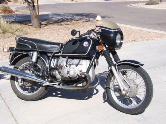 1972 bmw r series for sale classic sport bikes for sale. Black Bedroom Furniture Sets. Home Design Ideas