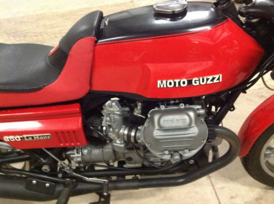 1978 Moto Guzzi LeMans R Side