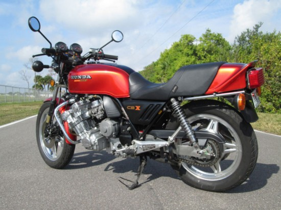 1979 Honda CBX L Rear