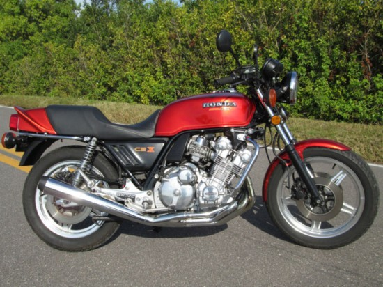 1979 Honda CBX R Side