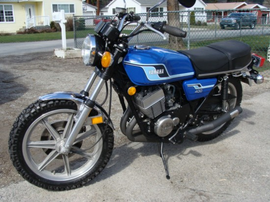1977 Yamaha RD400 For Sale