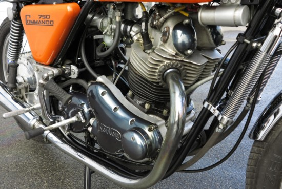1971 Norton Commando 750 R Engine