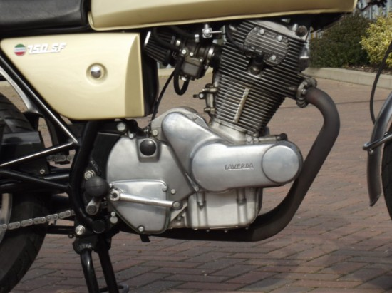 1972 Laverda 750SF Gold Engine