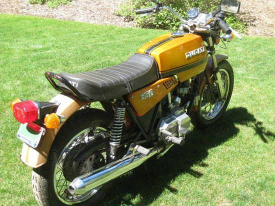 1976 Ducati 860GT Yellow R Rear