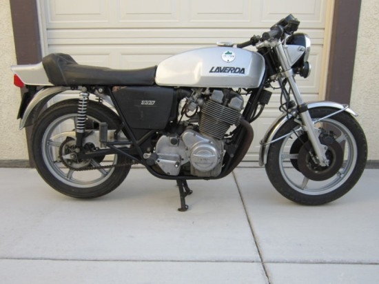 1976 Laverda 3CL 1000 R Side