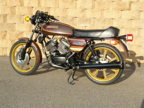 1980 Moto Morini 250TC L Side rear