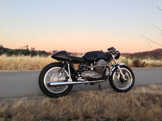 1975 Moto Guzzi T Cafe R Side
