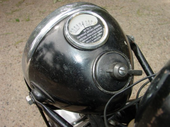 1950 Vincent Black Shadow Headligh Bucket