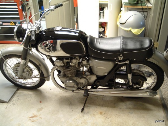 1967 Honda CB450 L Side