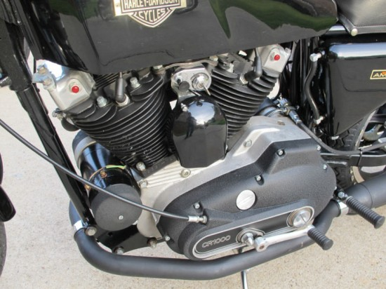1977 Harley XLCR L Engine