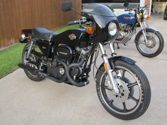 1977 Harley XLCR R Front