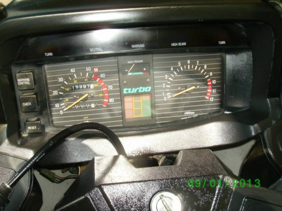 1982 Yamaha Seca Turbo 2 Dash