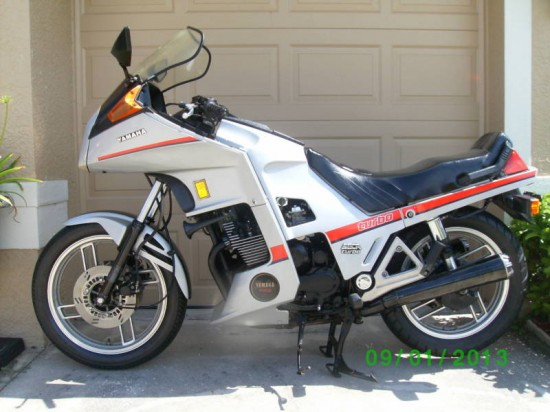 1982 Yamaha Seca Turbo 2 L Side