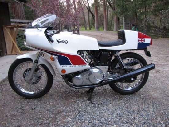 1974 Norton JPN L Side