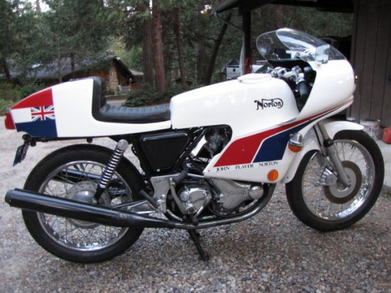 1974 Norton JPN R Side