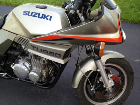 1983 Suzuki XN85 Turbo R Fairing