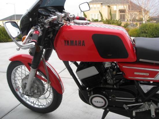 1971 Yamaha R5B L Side