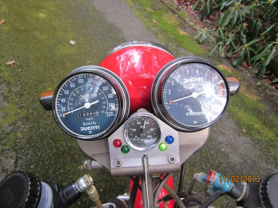 1980 Ducati Custom Clocks