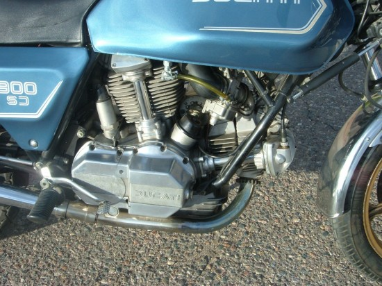 1982 Ducati Darmah R Engine