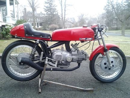 1968 Aermacchi 350 Sprint R Side