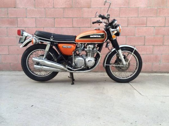 1975 Honda CB550 R Side
