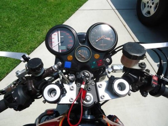 1979 Honda CBX Custom Dash