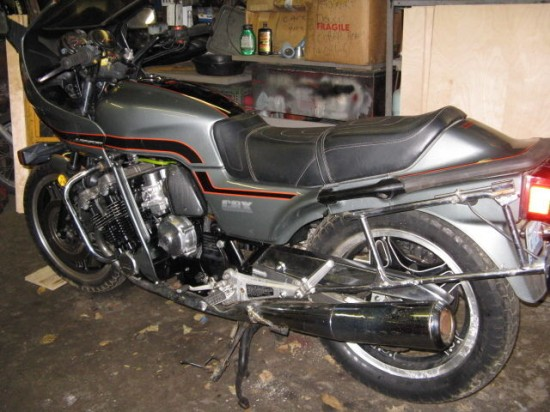 1981 Honda CBX L Rear