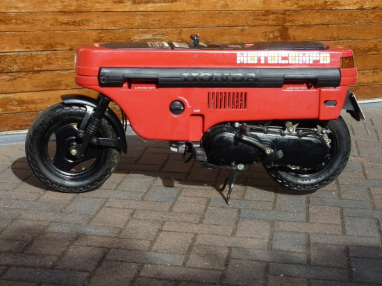 1982 Honda Motocompo L Side