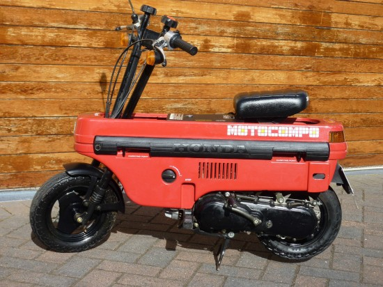 1982 Honda Motocompo L Side Ride