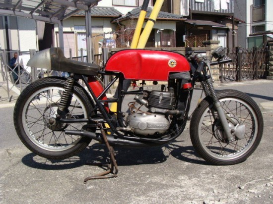 1965 Bultaco TSS water cooled – Classic Sport Bikes For Sale