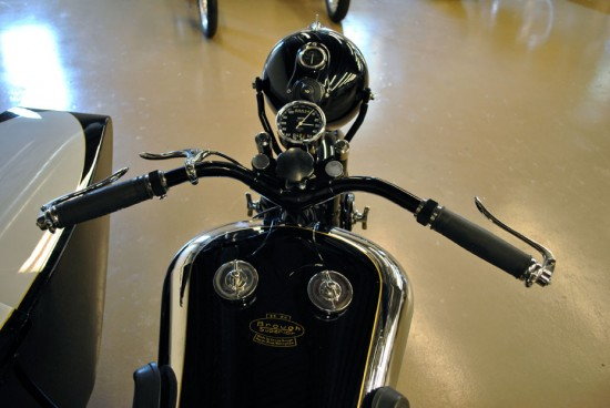 1936 Brough Superior SS80 Dash