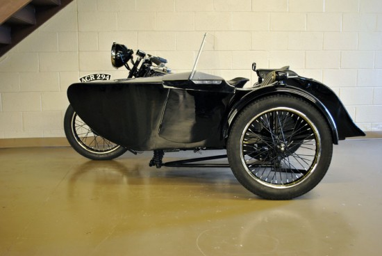 1936 Brough Superior SS80 L Side