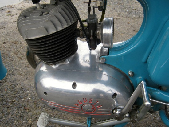 1957 MV Agusta Superpullman L Engine