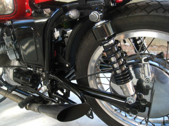 1969 Moto Guzzi V700 Cafe L Rear Suspension