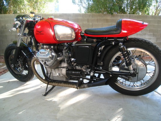 1969 Moto Guzzi V700 Cafe L Side