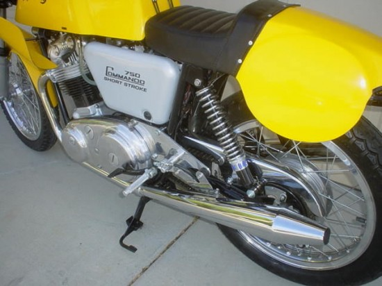 1970 Norton Commando L Rear