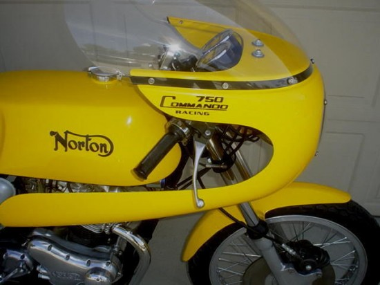 1970 Norton Commando R Fairing